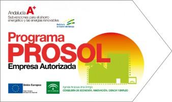 Subvenciones PROSOL Junta de Andalucía